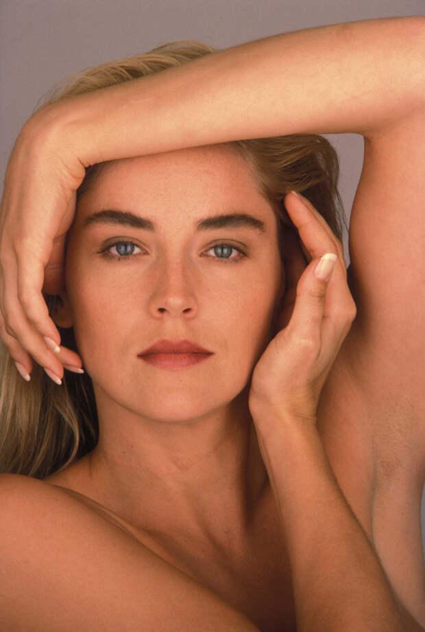 Шэрон Стоун (Sharon Stone) в фотосессии Яна Майлза (Ian Miles) (1990), фото 1