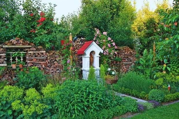 У садов с пряными травами есть высокий покровитель - святая Хильдегарда фон Бинген (1098-1179).