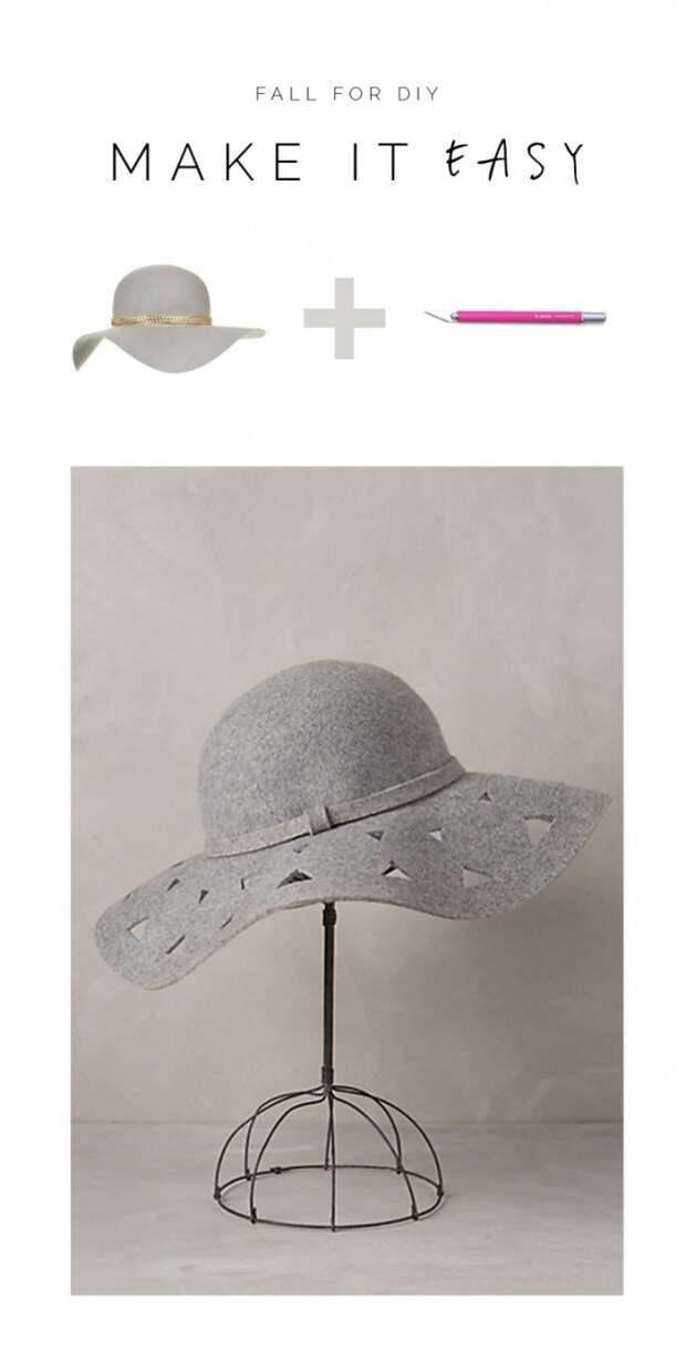 Идея переделки шляпки