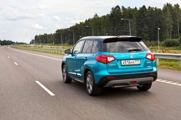 Утюжим дороги Эстонии на возрожденной Suzuki Vitara
