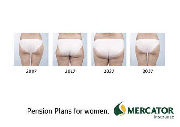 Накопи себе пенсию на приличную грудь