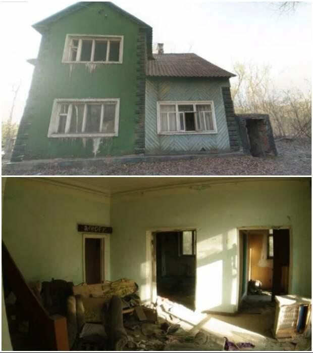 Некоторые дома неплохо сохранились и их постепенно восстанавливают (пос. «Березки», Магнитогорск).