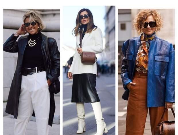 Молодят и выглядят стильно: 15 образов для женщин после 40