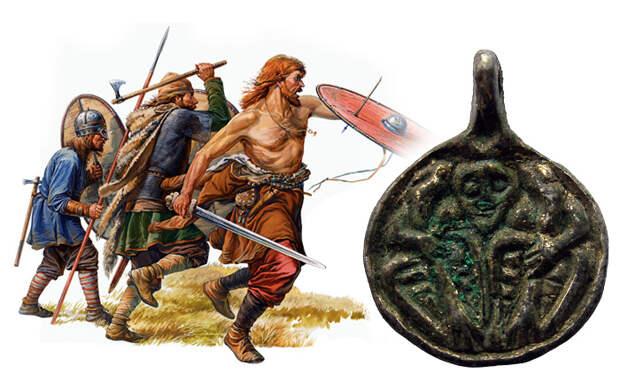 Некоторые сюжеты Скандинавской мифологии в металлопластике, встречающейся на территории Древней Руси