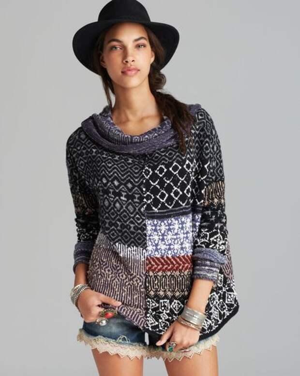 Три свитера из кусков