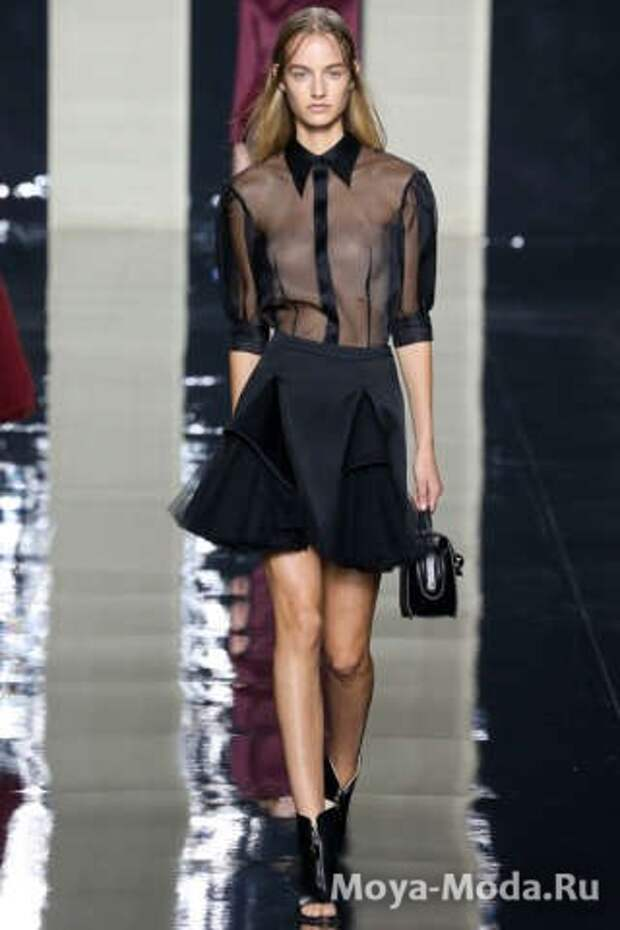 Модная юбка весна-лето 2015 Cristopher Kane