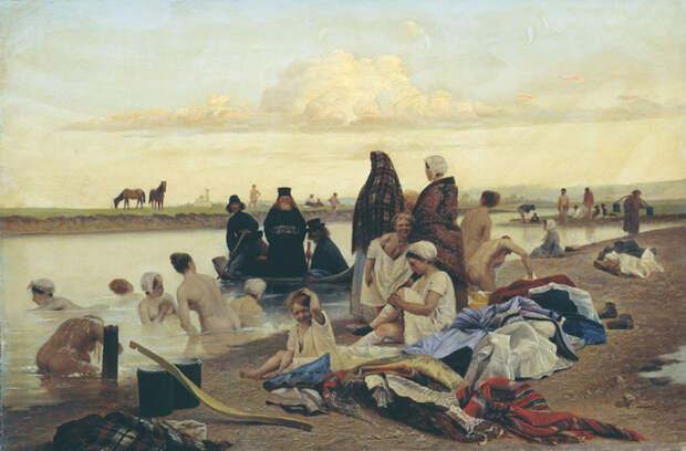 Картина Репина «Приплыли» история, россия, факты, художники