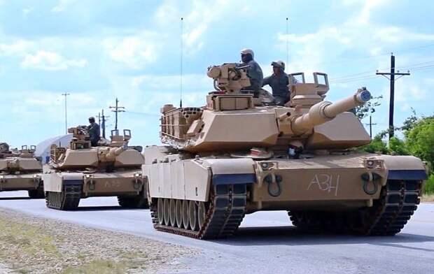 На белорусской границе на постоянной основе встанут 250 американских танков