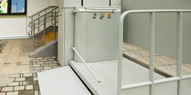 В доме в Южном Медведкове установят подъемную платформу и автоматические двери