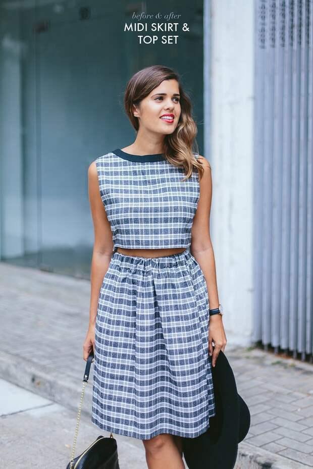 Костюм из винтажного платья (Diy)