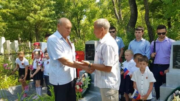 Память погибших в Кореи летчиков почтили в Уссурийске