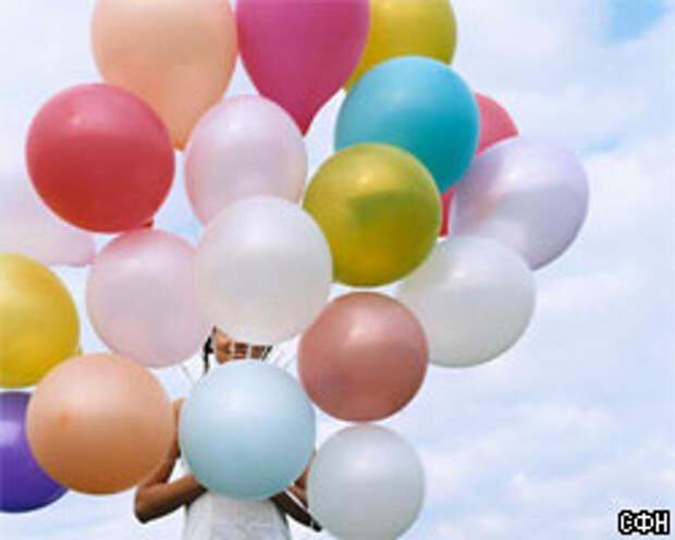 Раздавайте рекламные листовки с помощью воздушных шаров!