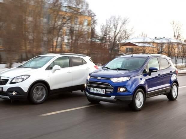 Opel Mokka и Ford EcoSport: сами мы местные