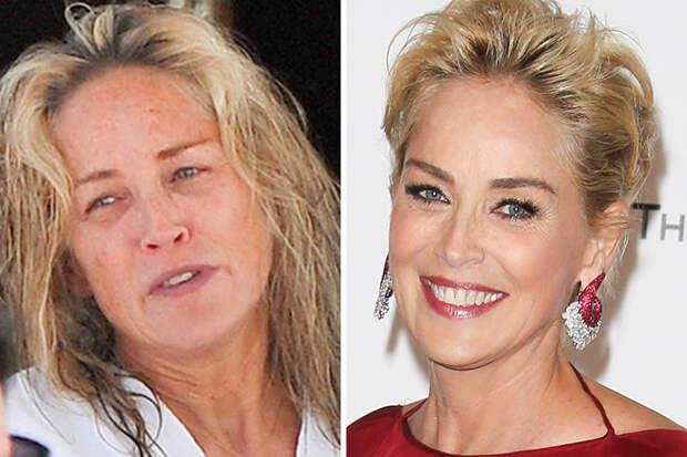 Как знаменитости выглядят до и во время красной ковровой дорожки