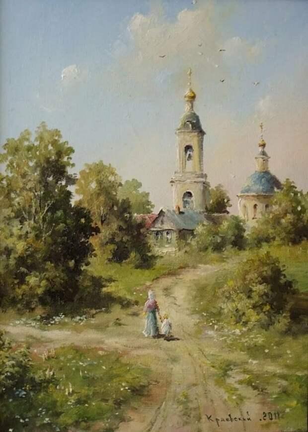 художник Владимир Краевский картины – 57