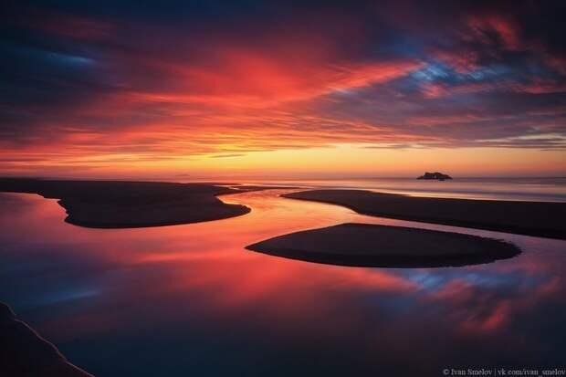 1. Халактырский пляж, Камчатка, Тихий океан. Фото: Иван Смелов