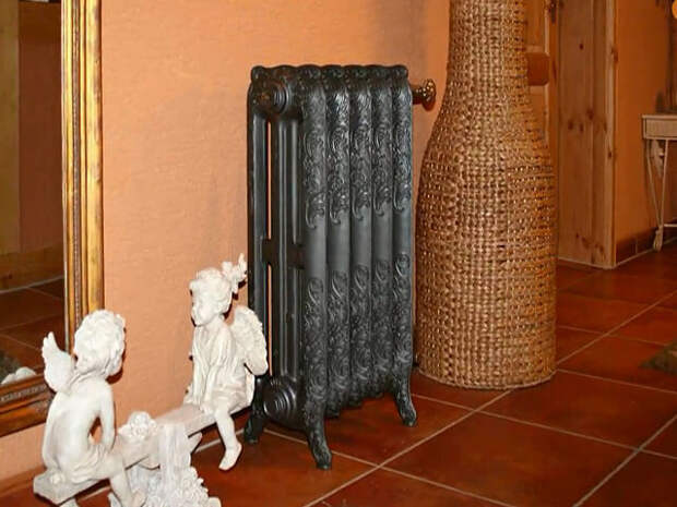 Чем и как закрыть батареи отопления в комнате: фото в интерьере, как спрятать радиаторы отопления в квартире, способы декора