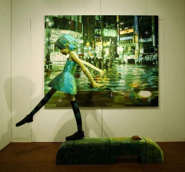Трехмерное творчество Шинтаро Охата