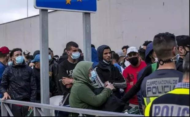 Беженцы в Литве требуют бургеры и колу. Бесплатный рис и овощи есть отказываются...