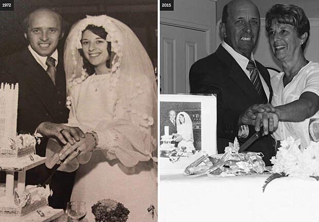 10 фотографий пар, доказывающих, что настоящая любовь длится вечно