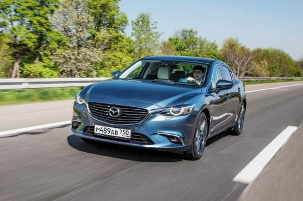 Mazda6 2,5 л (192 л.с.) 6АТ: от 1 270 000 руб.
