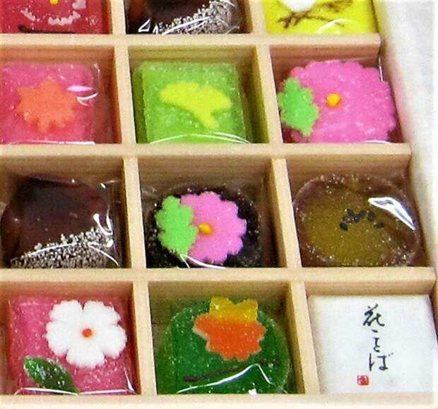 Вагаси вкусно, еда, необычные продукты, сладости, япония