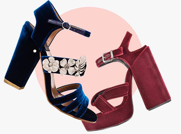 Бархатная обувь: 15 лучших пар
