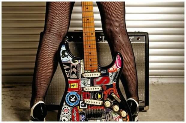 Вдогонку к сумасшедшим гитарам - гитарный дизайн