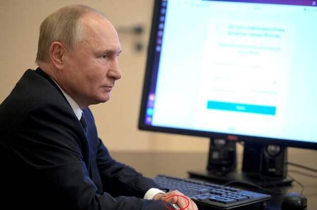 О новеньком скандальчике вокруг Владимира Путина