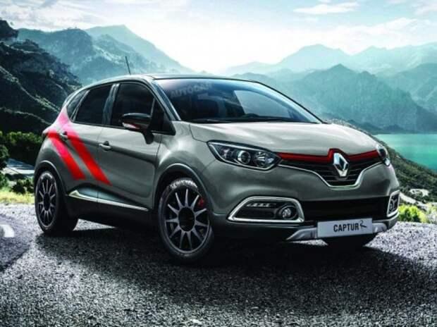 Renault может выпустить спортверсии кроссоверов Kadjar и Captur