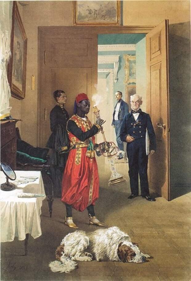 Слуги русского царя. Арапы