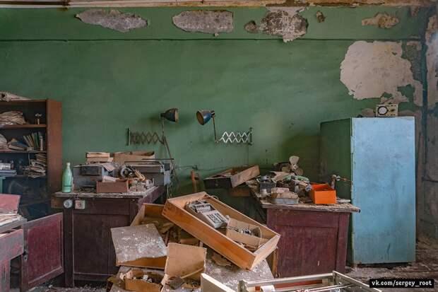 Заброшенный тракторный завод во Владимире