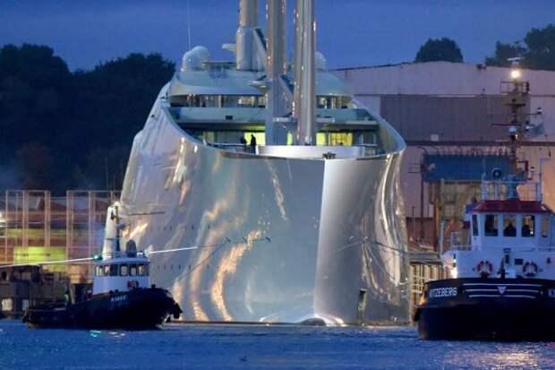 Новая яхта российского миллиардера Андрея Мельниченко за $400 миллионов