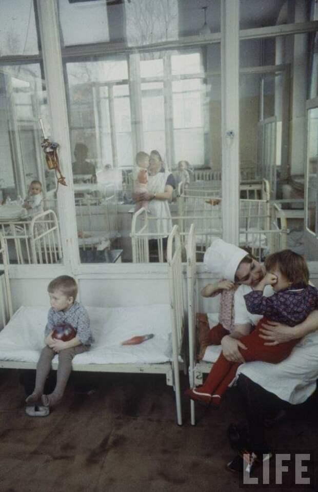Детская больница. СССР, качество, медицина, фото