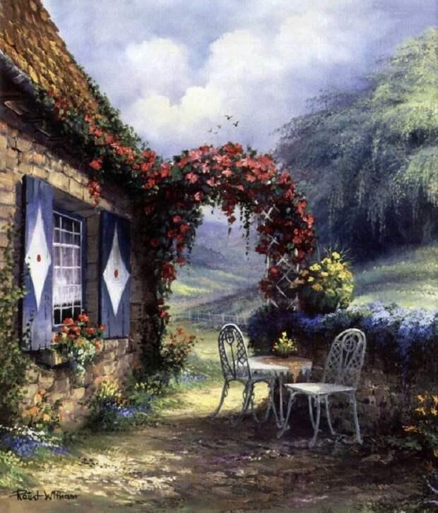 """""""Снится мне деревня..."""" уютнейшие сльские пейзажи голландского художника Reint Withaar"""