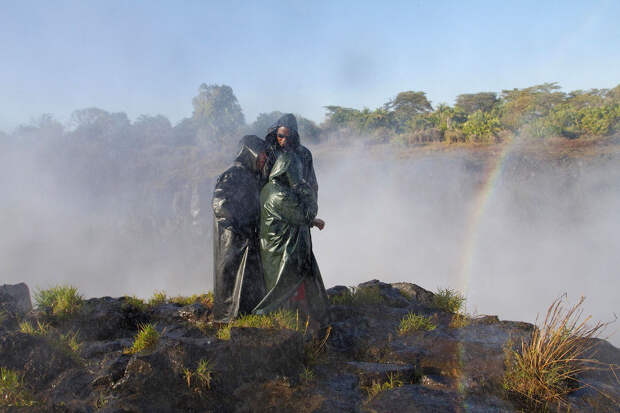 rainbow19 Радуга над самым большим водопадом в мире