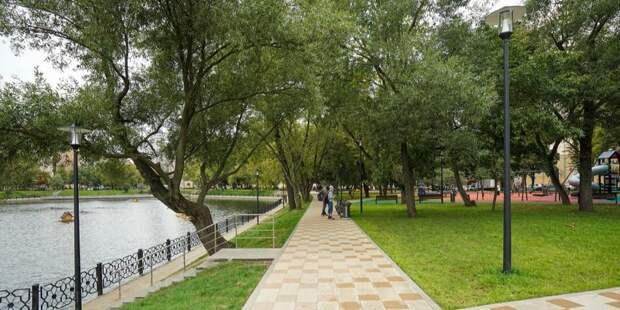 Новое общественное пространство появилось у Амбулаторного пруда