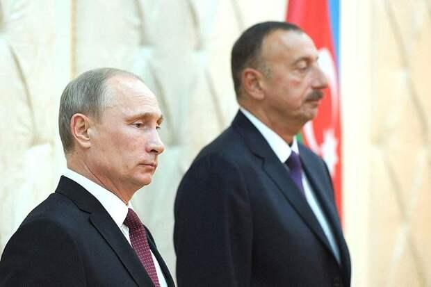 Путин подписал с президентом Азербайджана ряд документов