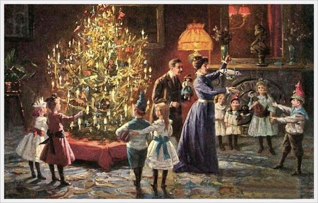 Большевики запрещали наряжать елку: 6 фактов о появлении Нового года в России