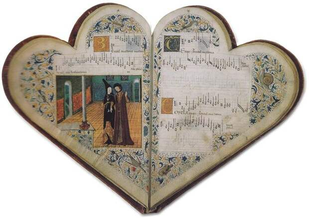 Необычные старинные книги и манускрипты