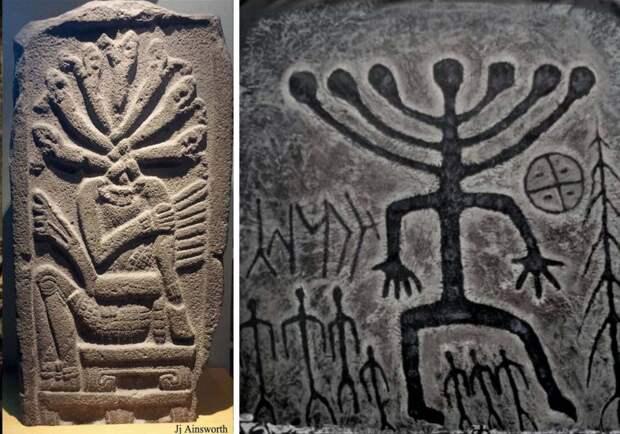 В древности тюрки и ацтеки поклонялись одному и тому же божеству