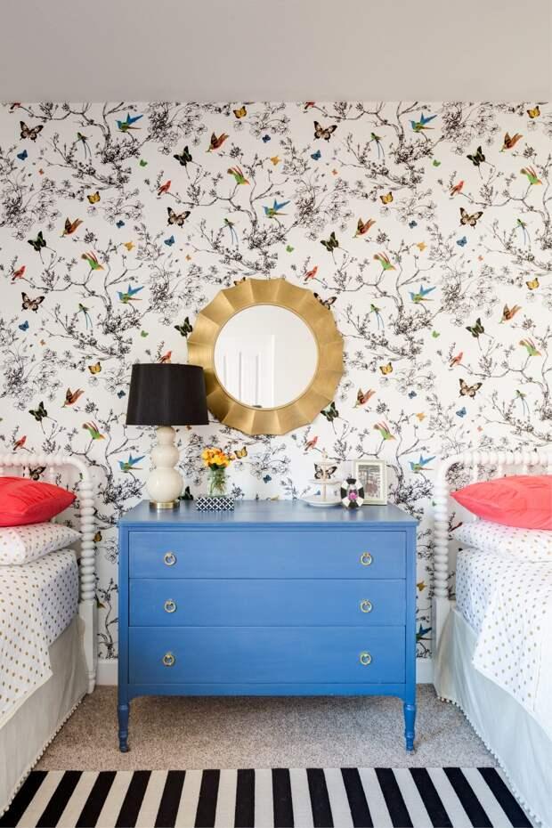 Обои в комнату для подростка: интересные сочетания и новые идеи (43 фото)