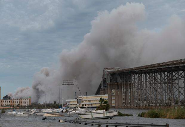 Химическая атака урагана Лауры