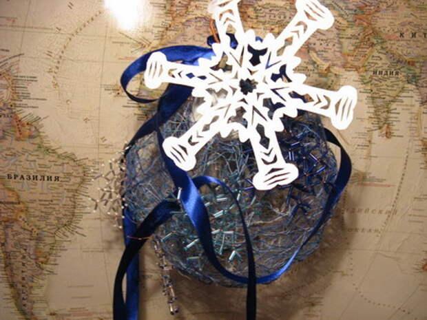 новогодний подарок светильник hand made