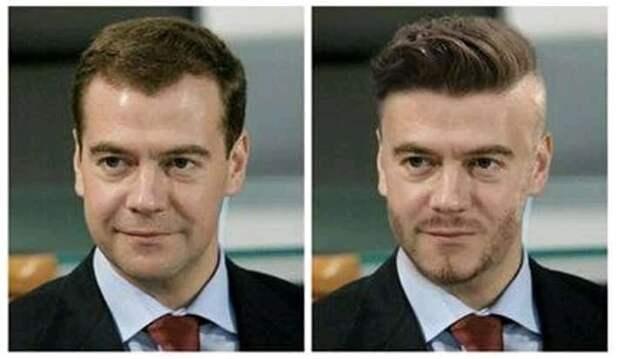 Вернёт рейтинг Медведев, если он сменит имидж?