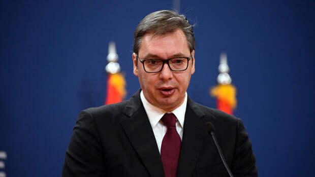 Вучич заявил, что в Косово будут задействованы сербские силы в случае бездействия НАТО