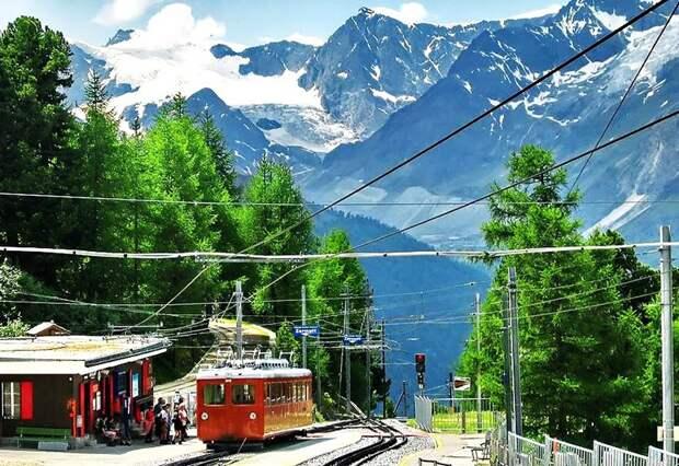 Chbahns39 Топ 5 самых необычных железных дорог Швейцарии