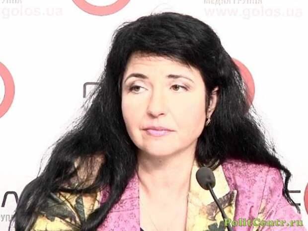 «Это плевок в лицо Украины!» — Янина Соколовская устроила антироссийскую истерику