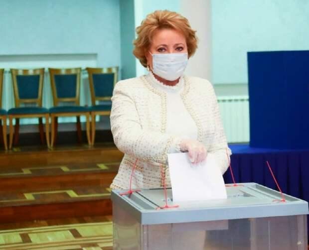Матвиенко не подержала идею переноса единого дня голосования