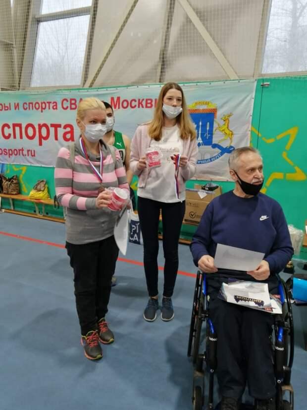 Жительница Алтуфьева завоевала бронзу окружных соревнований по шашкам